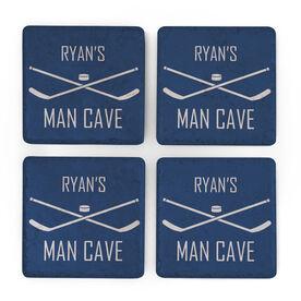 Hockey Stone Coasters Set of Four - Man Cave