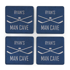 Hockey Stone Coasters Set of Four - Man Cave