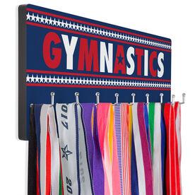 Gymnastics Hooked on Medals Hanger - Patriotic Gymnastics