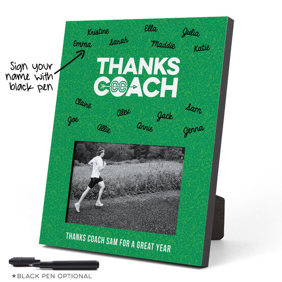 Cross Country Photo Frame - Coach (Autograph)