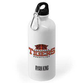 Wrestling 20 oz. Stainless Steel Water Bottle - Custom Logo