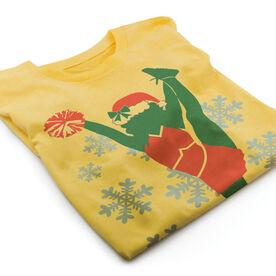 Vintage Cheerleading T-Shirt - Christmas Cheer