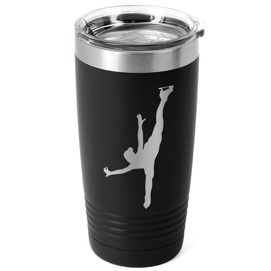 Figure Skating 20 oz. Double Insulated Tumbler - Silhouette