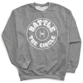 Wrestling Crew Neck Sweatshirt - Battle In Circle