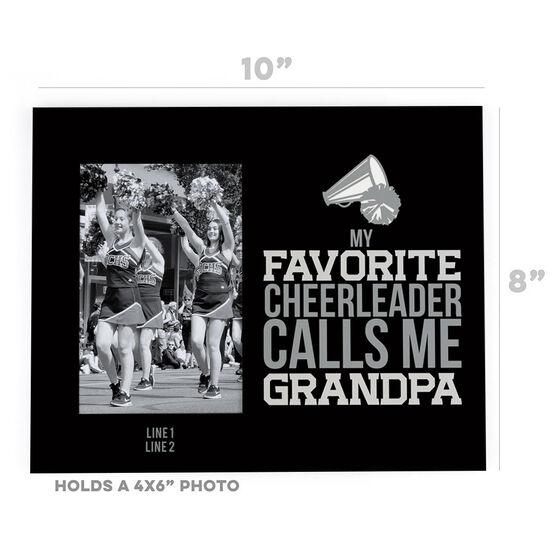 Cheerleading Photo Frame - Grandpa