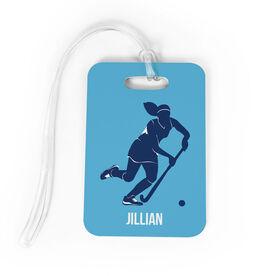 Field Hockey Bag Tags ChalkTalkSPORTS - Custom field hockey car magnets