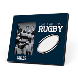 Rugby Photo Frame - For The Love Of Rugby