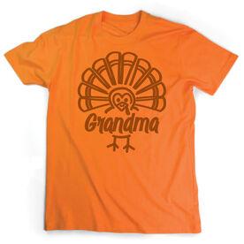 Short Sleeve T-Shirt - Grandma Turkey