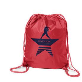 Softball Sport Pack Cinch Sack - Make History