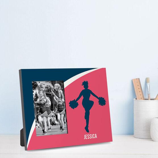 Cheerleading Photo Frame - Personalized Cheerleader