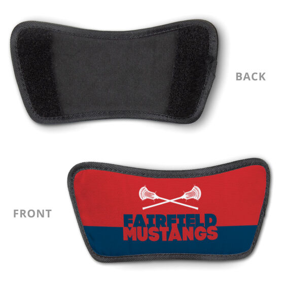 Guys Lacrosse Repwell™ Slide Sandals - Team Name Colorblock