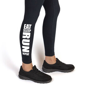 Running Leggings Eat Sleep Run