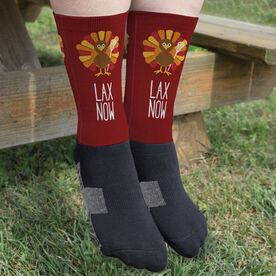 Lacrosse Printed Mid-Calf Socks - Lacrosse Turkey