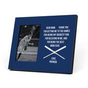 Baseball Photo Frame - Dear Mom Heart