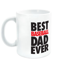 Baseball Coffee Mug Best Dad Ever