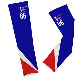 Arm Sleeves - Hamilton Fairfield Logo with Stripes