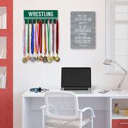 Wrestling Hook Board Wrestling Word