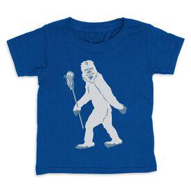 Guys Lacrosse Toddler Short Sleeve Tee - Yeti