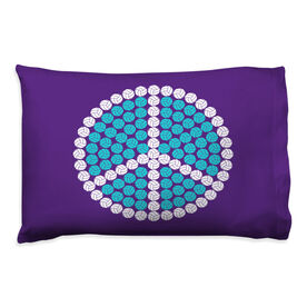 Volleyball Pillowcase - Peace