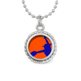 Softball Pitcher SportSNAPS Necklace