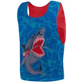 Guys Lacrosse Pinnie - Lax Shark