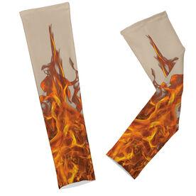Cross Training Printed Arm Sleeves Fire Sleeves