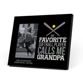 Softball Photo Frame - Grandpa
