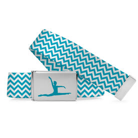 Gymnastics Lifestyle Belt Chevron Split