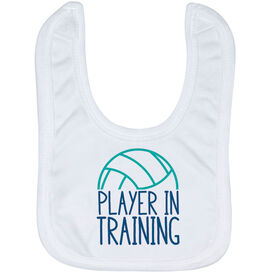 Volleyball Baby Bib - Player In Training