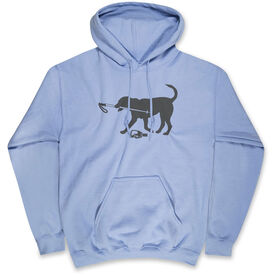 Skiing Standard Sweatshirt - Ski Dog