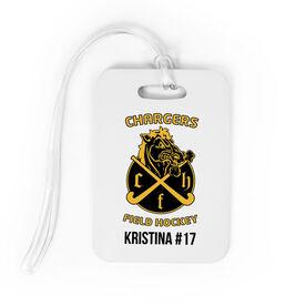 Field Hockey Bag/Luggage Tag - Custom Logo