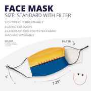 Crew Face Mask - Water Reflection