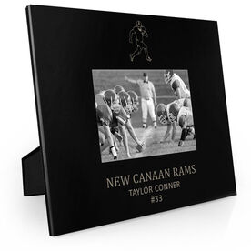 Football Engraved Picture Frame - Player