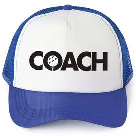 Golf Trucker Hat - Coach
