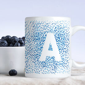 Dotted Intial Personalized Coffee Mug