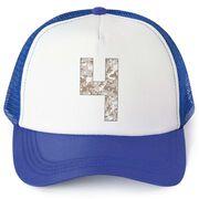Trucker Hat - Camouflage Custom Number
