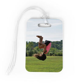 Gymnastics Bag/Luggage Tag - Custom Photo
