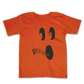 Running Toddler Short Sleeve Tee - Run Ghost