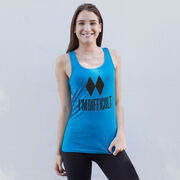 Skiing & Snowboarding Women's Athletic Tank Top - I'm Difficult