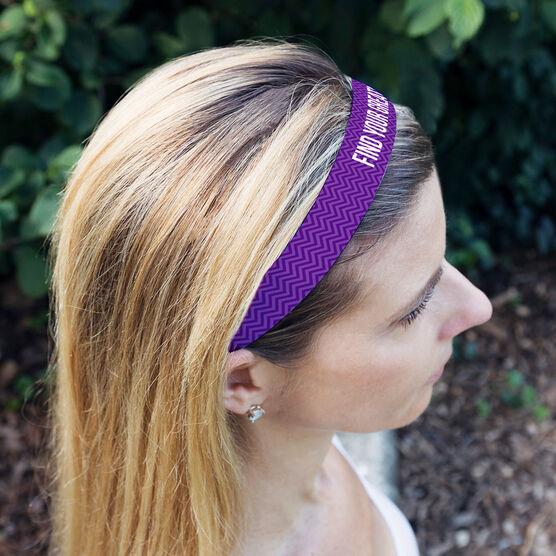 Athletic Julibands No-Slip Headbands - Personalized Chevron