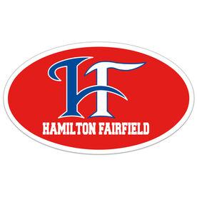 Car Magnet - Hamilton Fairfield Logo (Red)