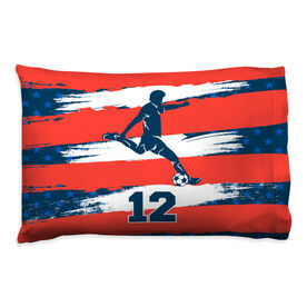 Soccer Pillowcase - Personalized USA Player
