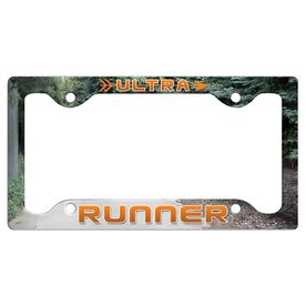Ultra Runner License Plate Holder