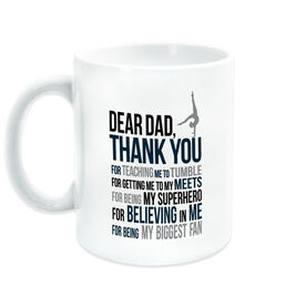 Gymnastics Coffee Mug - Dear Dad