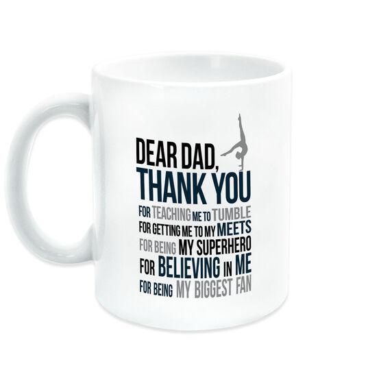 Gymnastics Coffee Mug - Dear Dad