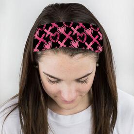 Multifunctional Headwear - Hearts and Xs RokBAND