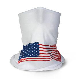 Girls Lacrosse Multifunctional Headwear - American Flag Sticks RokBAND