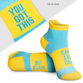 Socrates® Woven Performance Sock - You Got This