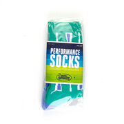 Crew Woven Mid-Calf Socks - Oar (Green)