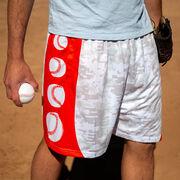 Digital Camo Baseball Shorts